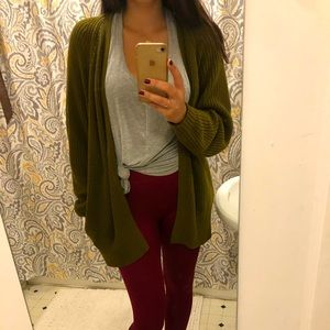 Urban Outfitters green cardigan size medium